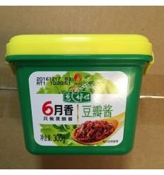 六月香葱伴侣豆瓣酱 bean paste 300g