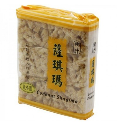 香港脆香园(椰汁)沙琪玛 Shaqima Cracker 240g