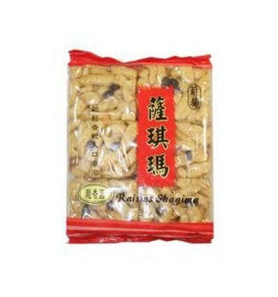 香港脆香园(蛋酥葡萄)沙琪玛 Shaqima Cracker 240g