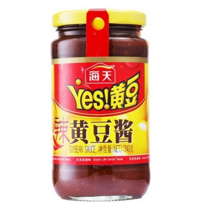 海天黄豆酱(辣) Soy Pasta 340g