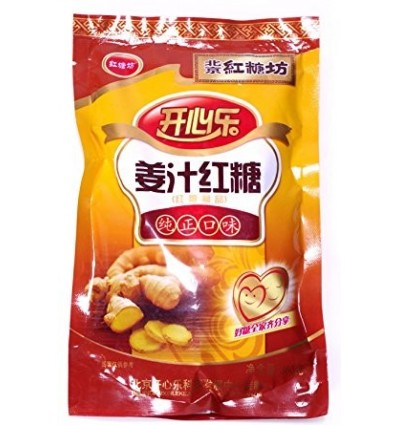 开心乐姜汁红糖 Red Sugar 350g