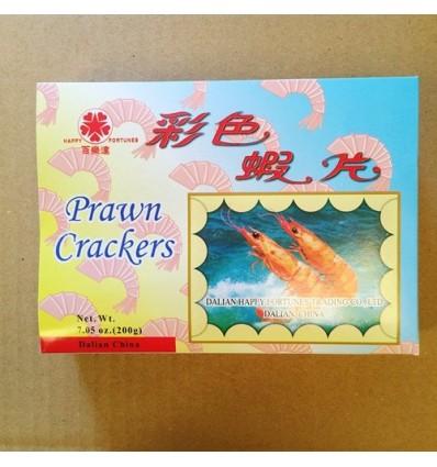 大连百乐达牌彩色虾片 colorful Shrimps 200g