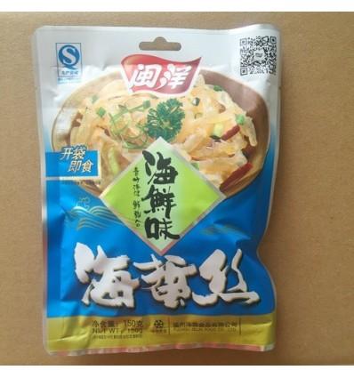 闽洋海蜇丝 x 海鲜味 Preserved Jellyfish 150g