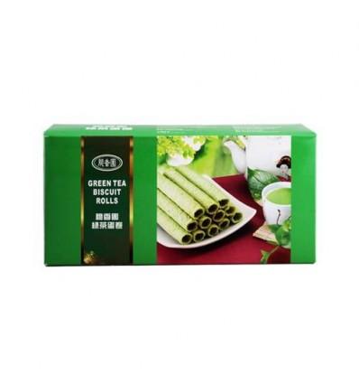 脆香园绿茶蛋卷 124g Green Tea Cracker