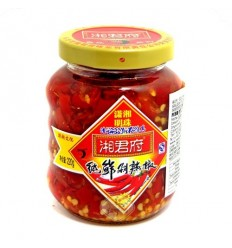 湘君府纯鲜剁辣椒 220g Red preserved chili