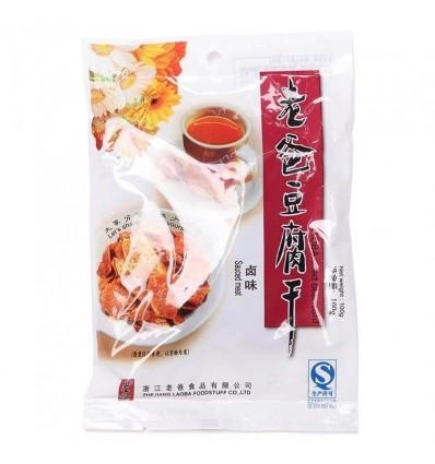 老爸豆腐干*卤味100g dried bean curd