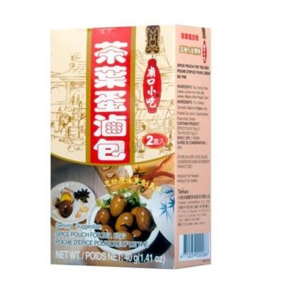台湾庙口小吃茶叶蛋卤包*2套入 40g seasoning soup
