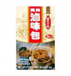 台湾庙口小吃万用卤味包*3套入 36g seasoning soup