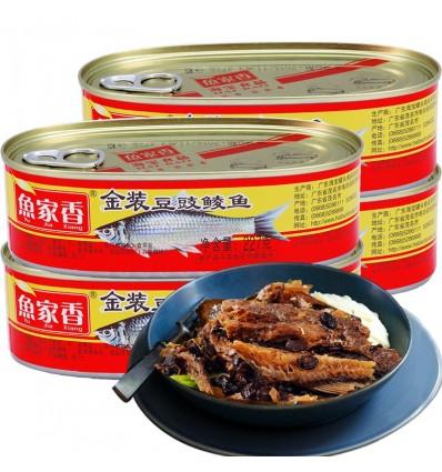 鱼家香豆豉鲮鱼 Canned mackerel 184g