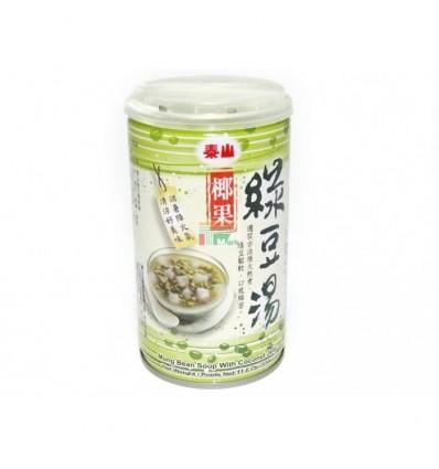 泰山椰果绿豆汤 Coconut fruit green bean soup 330g