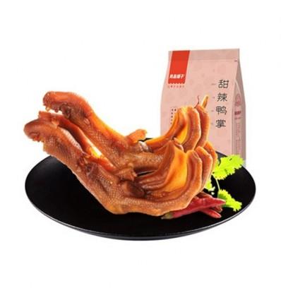 良品铺子 - 甜辣鸭掌 Spicy duck's paw 155g
