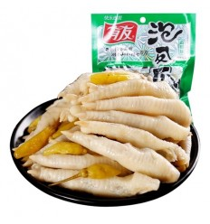 有友 - 泡凤爪 山椒味 Chicken claw 100g