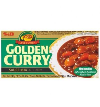 S&B金牌日式咖喱块(中辣) S&B Curry 220g