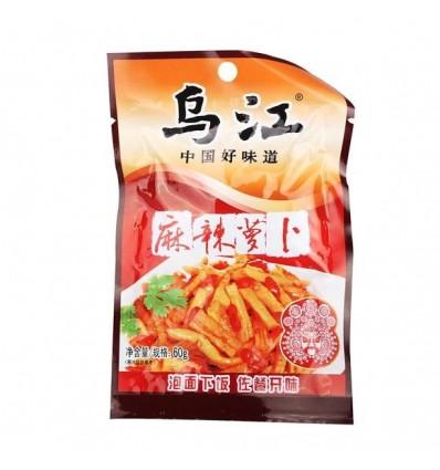 (5包8折)乌江麻辣萝卜 Spice Nabo 60g