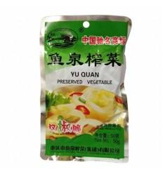 鱼泉双椒脆特级榨菜 mustard tuber 80g