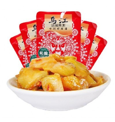 乌江榨菜(爽脆) mustard tuber 60g
