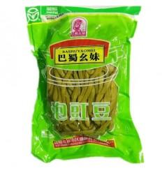 (小包装)巴蜀幺妹泡豇豆/酸豆角 Preserved Beans 350g