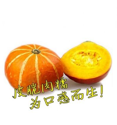 有机东升南瓜 Japanese Pumpkin 1个 1.4 kg