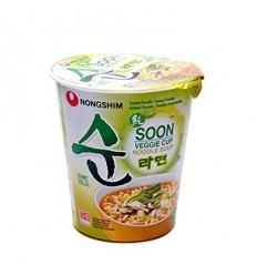农心蔬菜拉面(杯面)Nong Shim Soon Veggie Noodle Soup Cup 67g