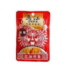 (5包85折)乌江牌 涪陵榨菜(麻辣味) mustard tuber 80g