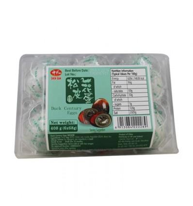 (易碎品)神丹牌松花皮蛋(6粒装) Preserved duck's egg 408g