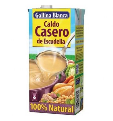 GALLINA BLANCA牌西班牙ESCUDELLA风味肉汤 1L Caldo de escudella