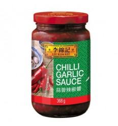 李锦记蒜蓉辣椒酱 368g LKK chilligarlic Sauce