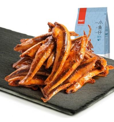 良品铺子 - 小鱼仔(酱汁味)120g Bestore Snacks