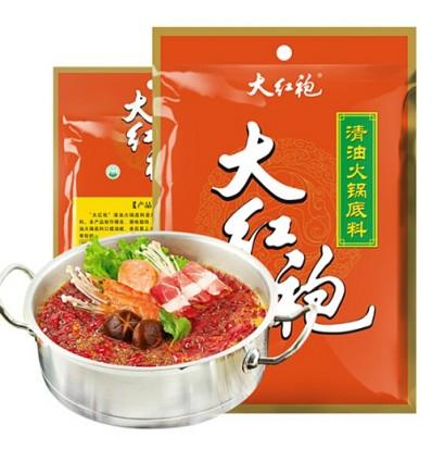 大红袍火锅底料(清油) Hot pot spices 150g