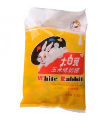 大白兔奶糖(玉米味)114g White Rabbit Candy