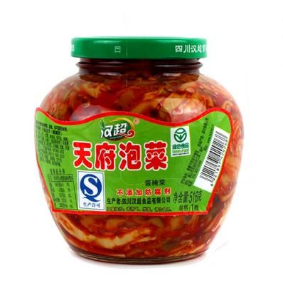 汉超天府泡菜 Sichuan pickles 516g