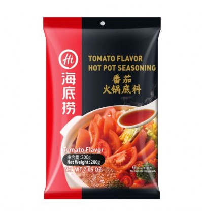 海底捞番茄火锅底料 Hot pot spices 200g