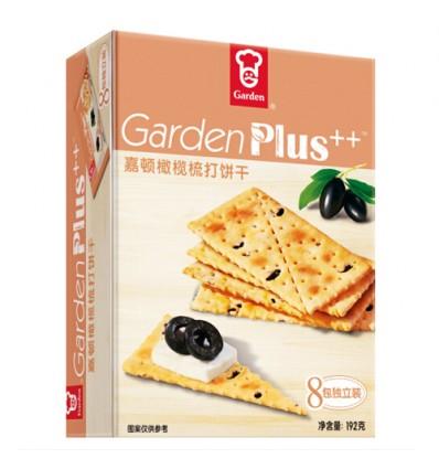 嘉顿梳打饼干 橄榄味 Soda crackers olive flavor 192g