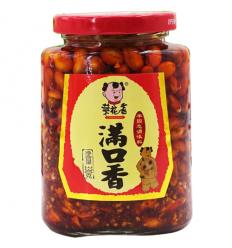 菜花香(满口香) Soybean hot pepper oil 210g