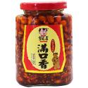 菜花香(满口香)下饭菜 Soybean hot pepper oil 210g