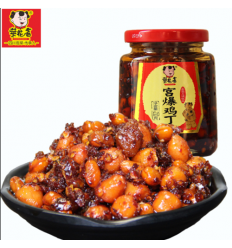 菜花香(宫保鸡丁) Soybean hot pepper oil 210g