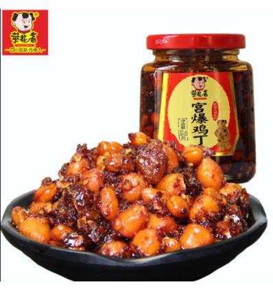 菜花香(宫保鸡丁) Soybean hot pepper oil 210g