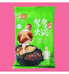 红灯笼火锅底料(菌汤红汤) 绿色 Hot pot spices 228gr