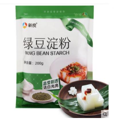 新良绿豆淀粉 green beans power 200gr