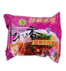稻花香过桥米线(酸辣牛肉)紫袋 instant noodle 108g