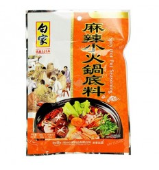 白家麻辣小火锅底料 Hot pot spices 200g