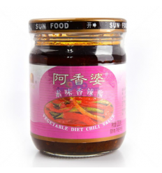 阿香婆 素味香辣酱 Spicy Vegetarian Sauce 200G
