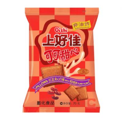 上好佳可可甜心(红豆夹心)Oishi Readbean Flavour 70G