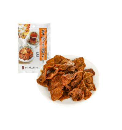 老爸豆腐干*麻辣味 100g dried bean curd