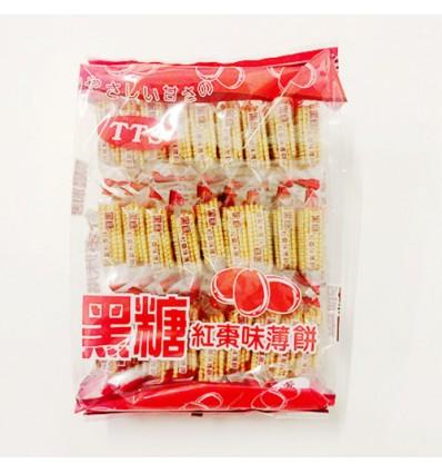 香港恬恬思TTS 薄饼 (黑糖红枣)280g Cracker
