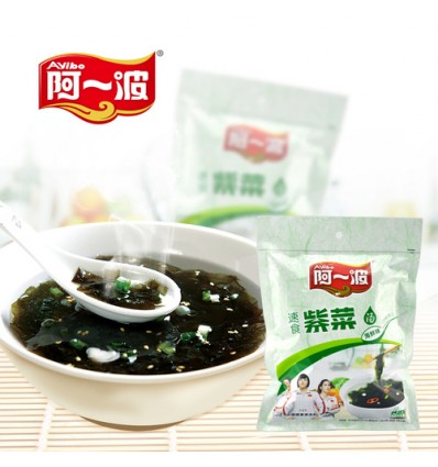 阿一波速食紫菜(海鲜味) 62g dried purple seaweed