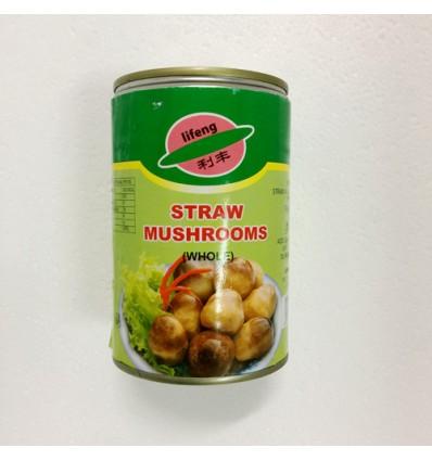 利丰草菇罐头 425g Canned food