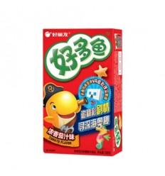 好丽友饼干 好多鱼 茄汁味(红) 33g crackers