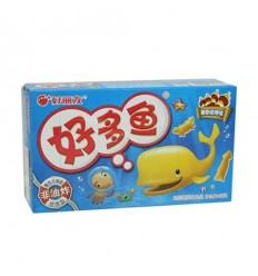 好丽友饼干 好多鱼 烧烤味(蓝)33g crackers