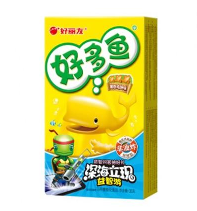 好丽友饼干 好多鱼 鸡翅味(黄) 33g crackers